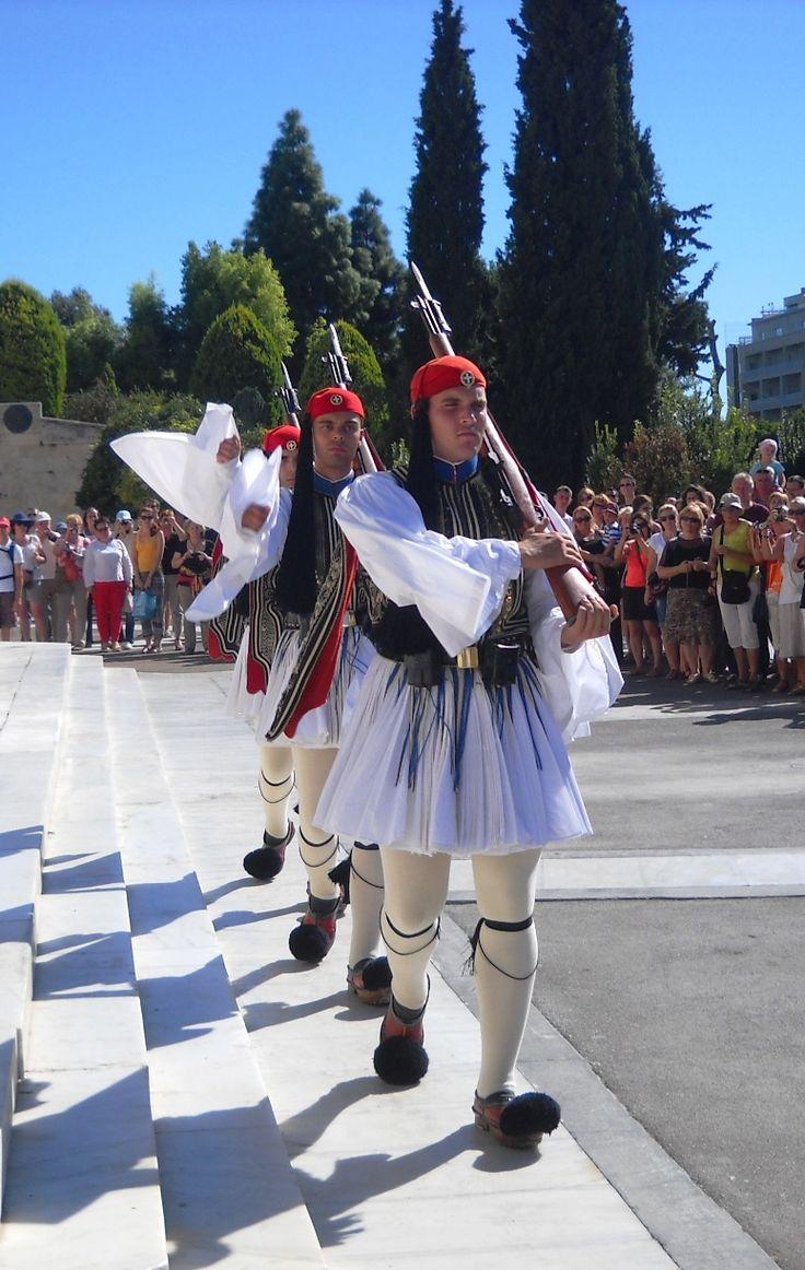 Výměna stráží - Athény - Řecko