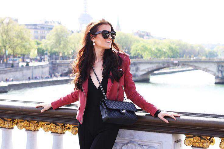 Paris. Outfit. Fashion. Chanel bag. http://mariannelle.com
