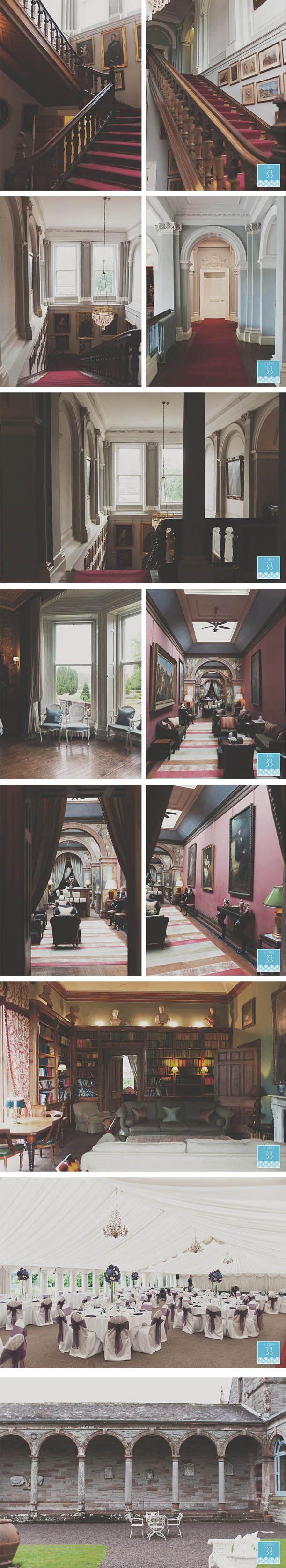 Interior of #Castle Leslie