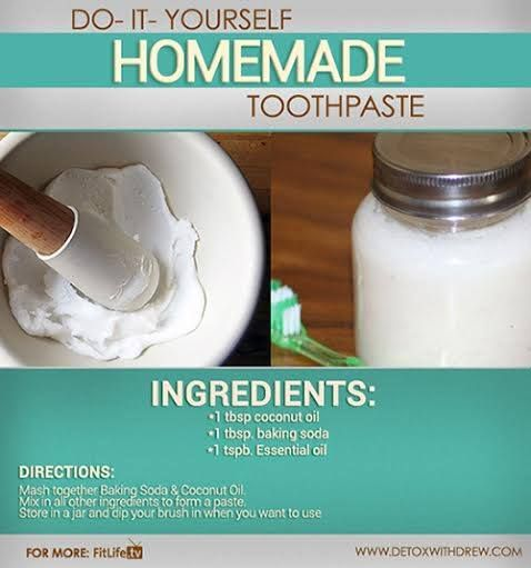 All naturals homemade toothpaste recipes