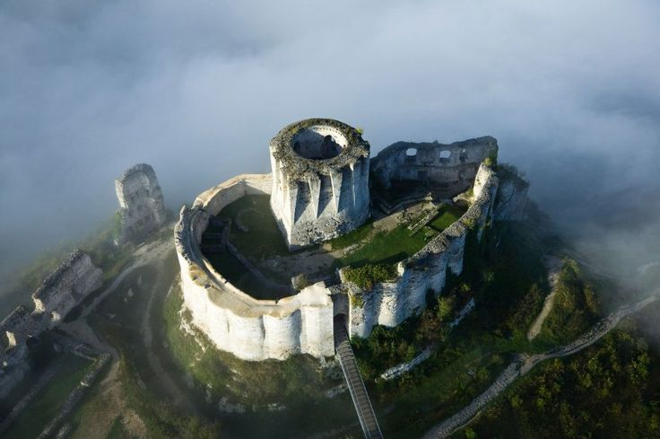 Chateau Gaillard, Normandie, France