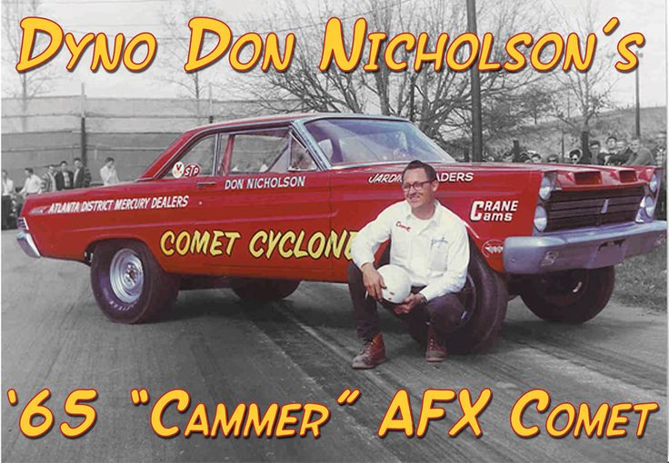 64/65 Comets old drag cars, Dyno Don.