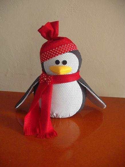 Peso de porta Pinguim