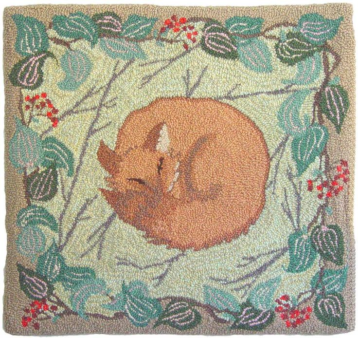 Find This Pin And More On Hooked Rugs ... Wildlife.