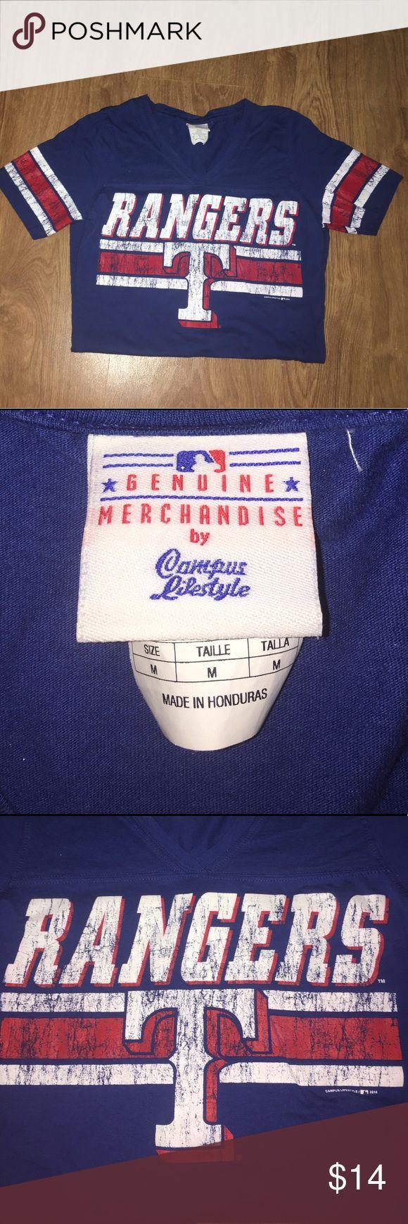 Selling this Texas Rangers T-Shirt on Poshmark! My username is: nerdyandcute. #shopmycloset #poshmark #fashion #shopping #style #forsale #Campus Lifestyle #Tops