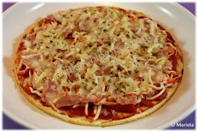 Yes, I Du-kan!: Pizza crujiente Dukan