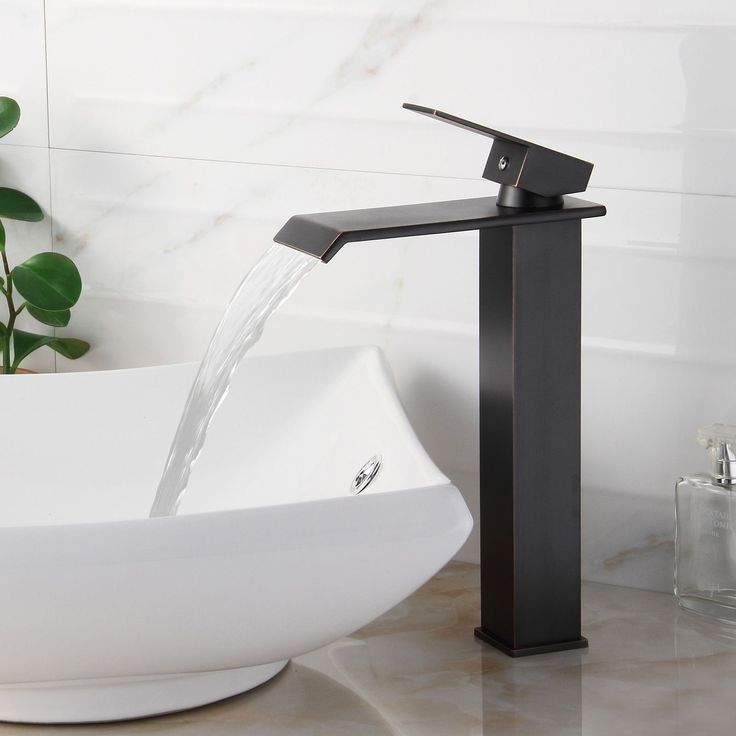 Best Sanitary Ware Images On Pinterest Bathroom Ideas - Contemporary waterfall faucets riflessi from gessi