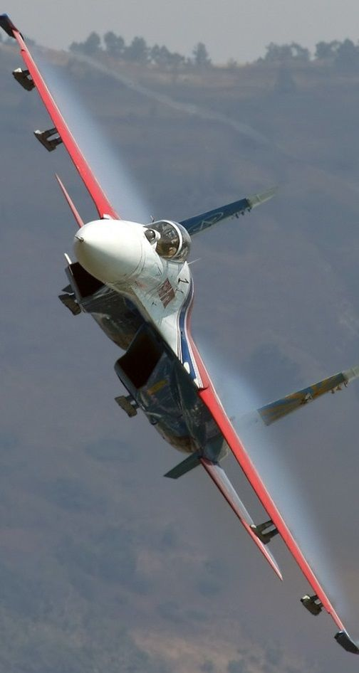 Russian Su-27 'Flanker' Air Superiority fighter --- Russian Knights