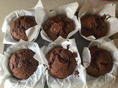 muffin al doppio cioccolato di Benedetta Parodi