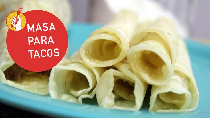 Te enseñamos la receta de masa para tacos al estilo Rapiditas. Ideal para tacos, fajitas o quesadillas 100% caseros ¡y súper fácil de hacer!