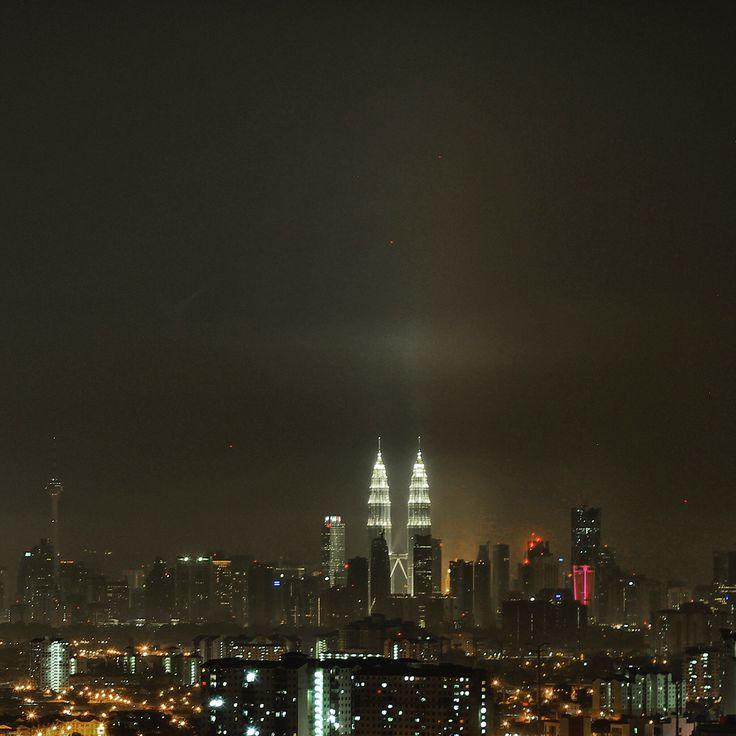 Beautiful Night in Kuala Lumpur