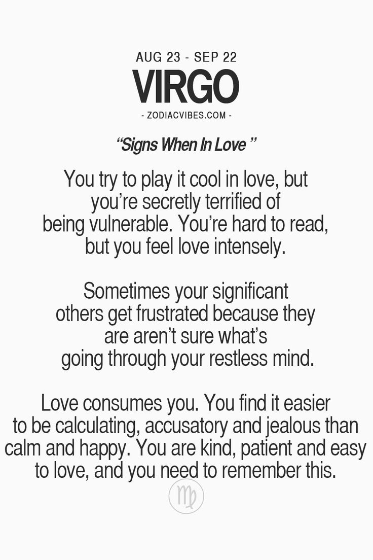 Read about your sign in love here