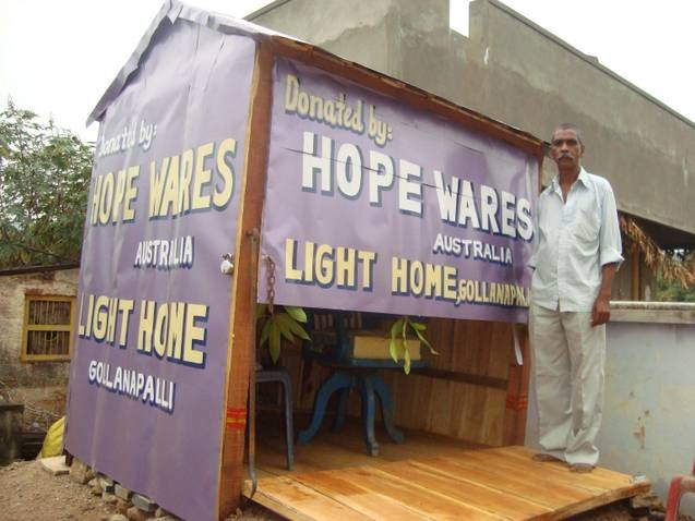 The new Barber Shop financed by HopeWares!
