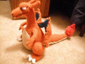 Charizard crochet pattern