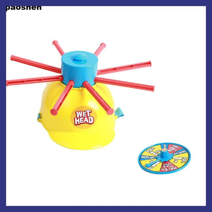 New Parents Kids Wet Head Challenge Fun Water Roulette Family Party Prank Games Toys Funny Gadgets For kid gift