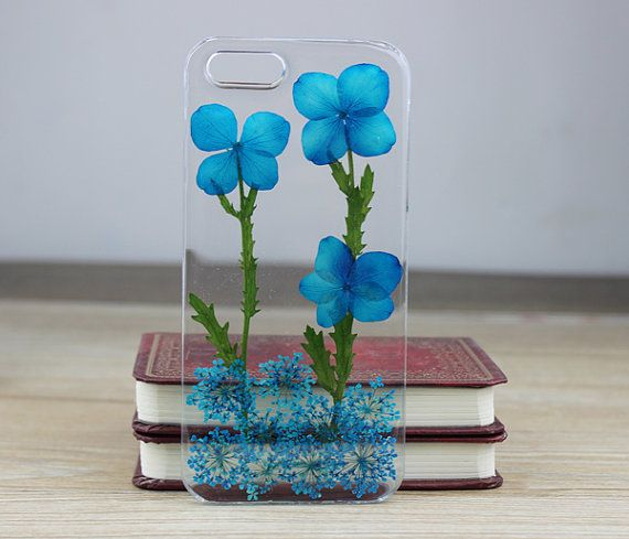 Unique real Pressed flower iphone 5 case  Iphone 5s by FlowerCases, $12.99