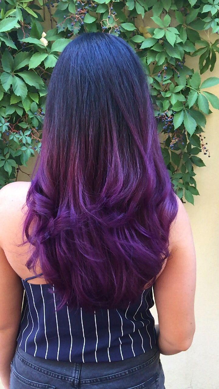 Purple violet ombré  www.chillicouture.com.au