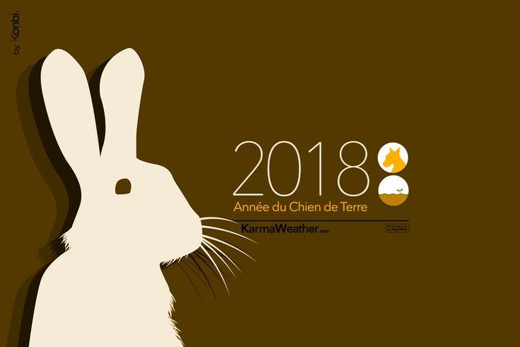Horoscope chinois 2018 gratuit et complet du signe du zodiaque chinois du  Lapin (Lièvre, Chat) pour le Nouvel An Chinois 2018 et durant toute l