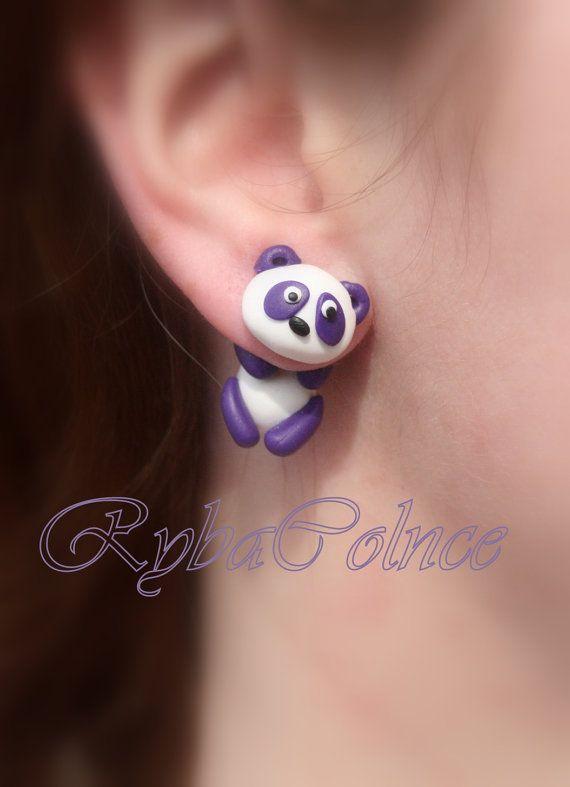 Fake ear  gaugs The Panda