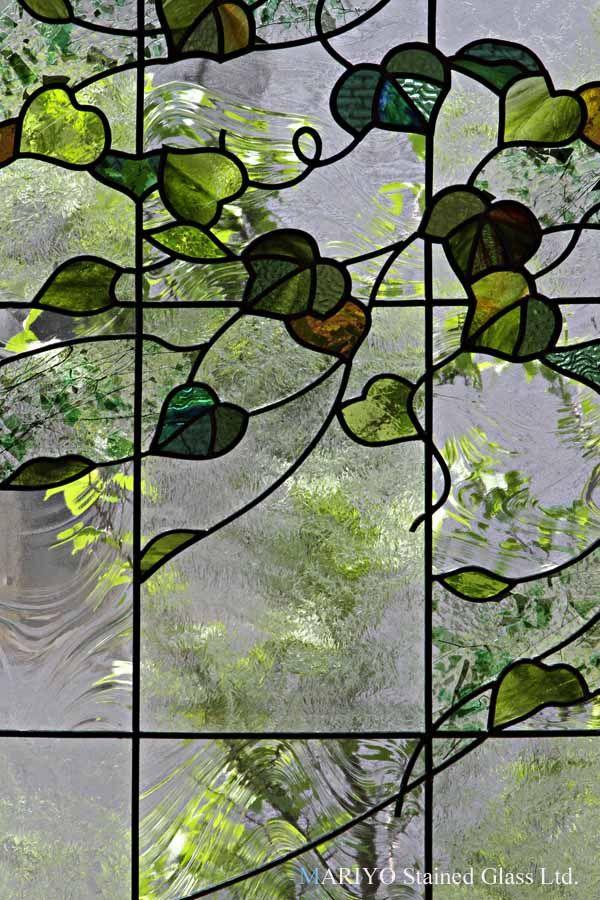 ステンドグラス 蔦の葉UP2012                                                                                                                                                                                 もっと見る