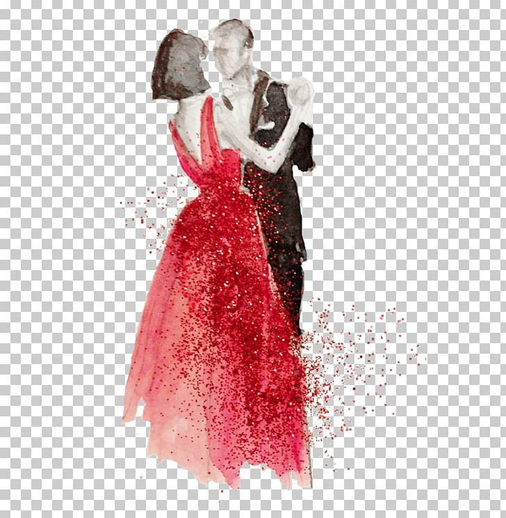 The Dancing Couple First Dance Drawing Watercolor Painting Png Art Costume Design Dance Dancing Couple Dan Dancing Drawings Couple Dancing Dancing Sketch