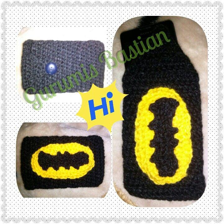 Funda celular Batman.