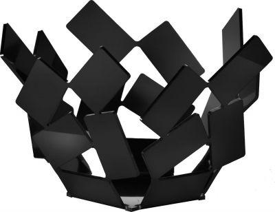 ALESSI La Stanza dello Scirocco Theelichtje: Speels ontwerp van Mario Trimarchi gemaakt van roestvrij stalen plaatjes.