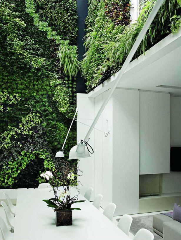Vertical garden garden wall pinterest gardens for Outdoor vertical wall garden
