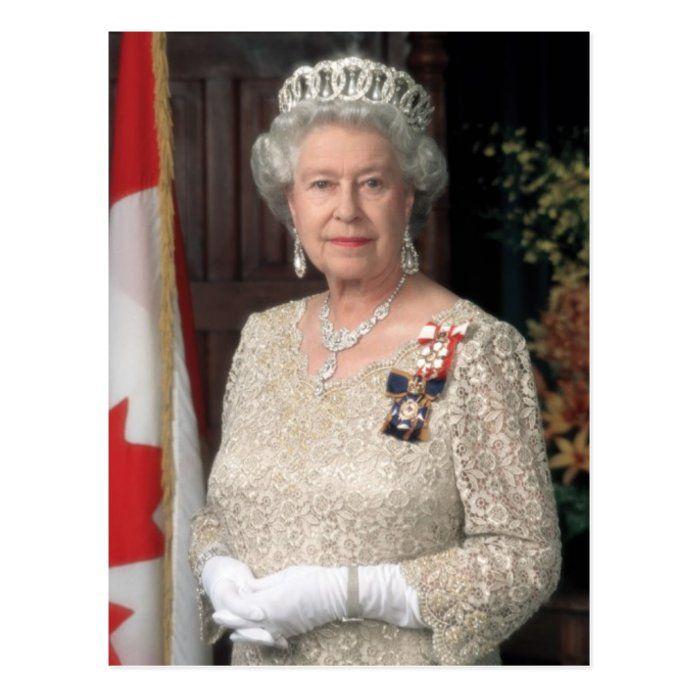 Her Majesty Elizabeth Ii Postcard Zazzle Com In 2021 Queen Elizabeth Jewels Her Majesty The Queen Elizabeth Ii