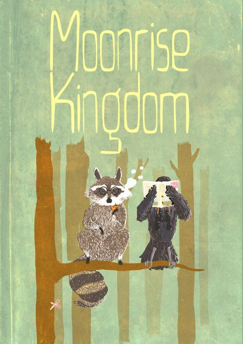 Moonrise Kingdom (2012) ~ Alternative Movie Poster by Ali Heraize #amusementphile