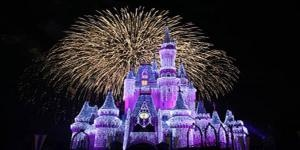 Cinderella's Wish and the Castle Dream Lights