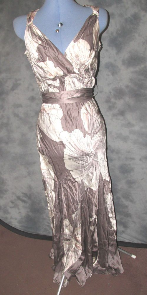 Principles,ladies,size 12-14, floral,full length,v neck,sleeveless,formal,Dress.