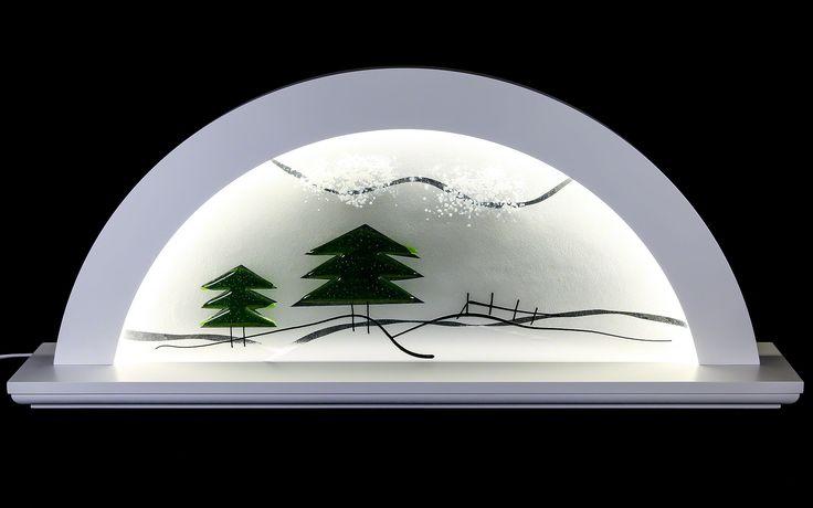 Moderner Schwibbogen aus dem Erzgebirge