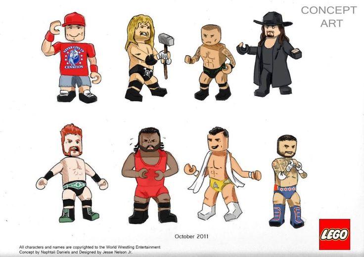 Lego WWE by nellz86