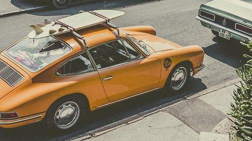 Porsche and surf