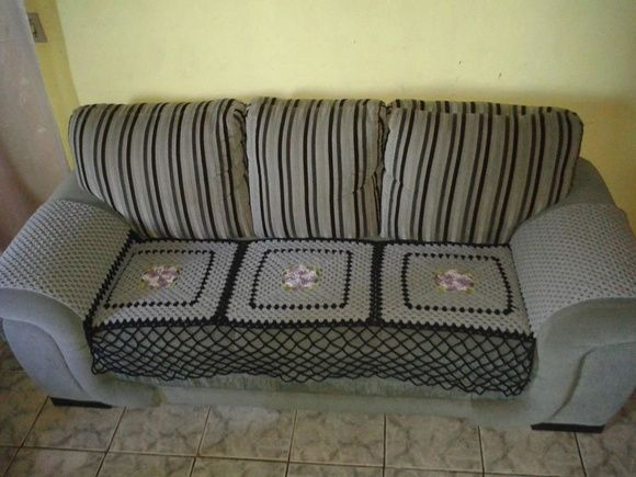 Capa para sofá 2 e 3 lugares, barbante