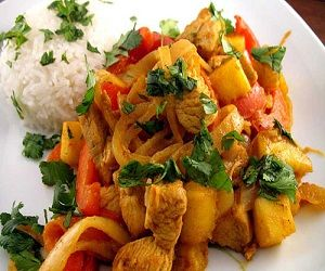 malaysian mango chicken curry malaysian mango chicken curry recipe