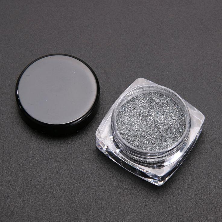 2g/Box Glitter Mirror Chrome Effect Dust Magic Shimmer Nail Art Powder For Nail Polish Nail Accesories