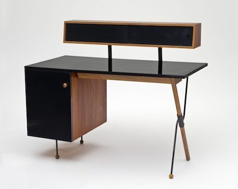 Desk by Greta Magnusson Grossman: Modern, Greta Grossman, California Design, Glenn, Desks, Furniture Design, Iron, Storage Units