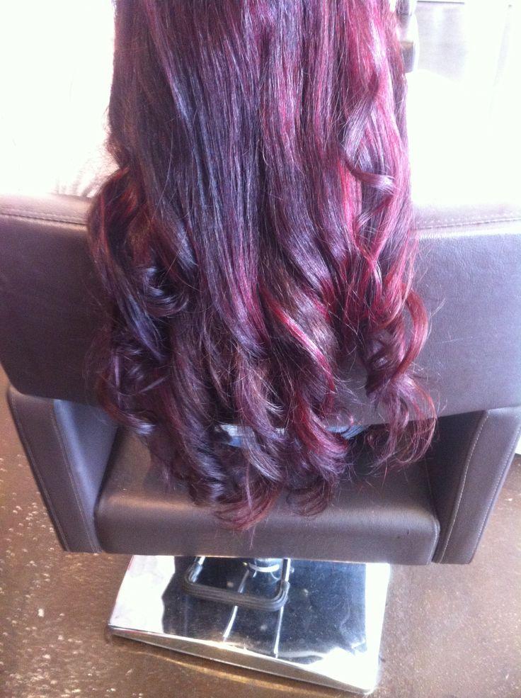 My New Red Violet Hair Colour H A I R Amp B E A U T Y Pinterest Violet Hair Colors Red