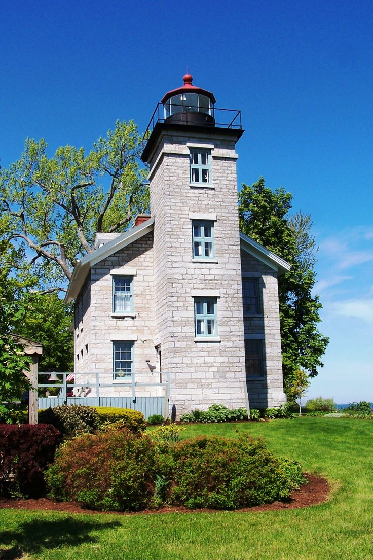 Sodus Bay Lighthouse Museum in Sodus Point, NY