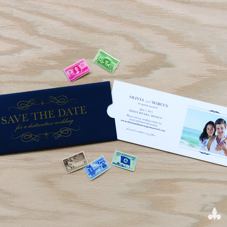 destination wedding save the dates and invitations%0A Custom Wedding Invitations and Wedding Branding