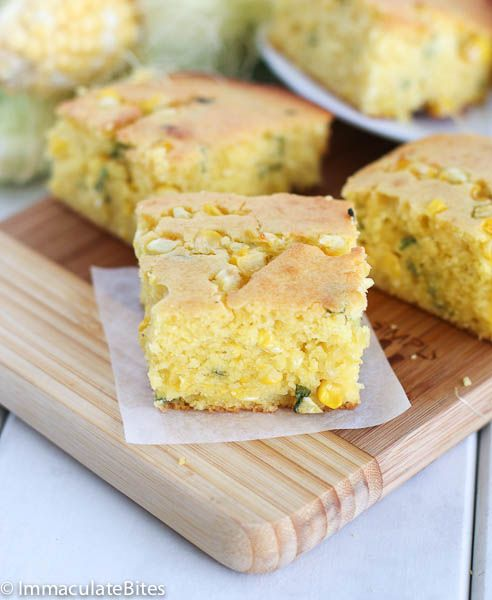 Most people think of corn breads as a southern thing. Not quite. Corn breads and baking with corn turn up in many other countries around the world, especially in the Caribbean's and Africa.    In many parts of Africa, fresh corn is used to make puddings, tamales and bread- like this koki ...