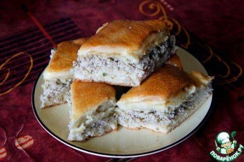 Очень простой рецепт мясного пирога: подробное описание всех процессов приготовления плюс пошаговые фотографии.
