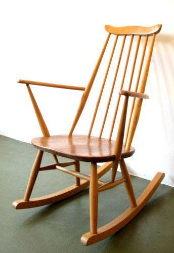 Vintage Ercol Goldsmith Rocking Chair
