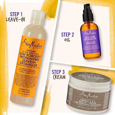 It's official, we love the LOC method! Our LOC bundles are specifically designed with your hair needs in mind. Our Moderate Moisture Bundle is ideal for Fine to Medium hair looking for a light moisture refresh. Watch a tutorial and shop this bundle here:  http://www.sheamoisture.com/LOC-with-Shea--Moderate-Moisture-Bundle-With-100-Pure-Baobab-Oil_p_1614.html