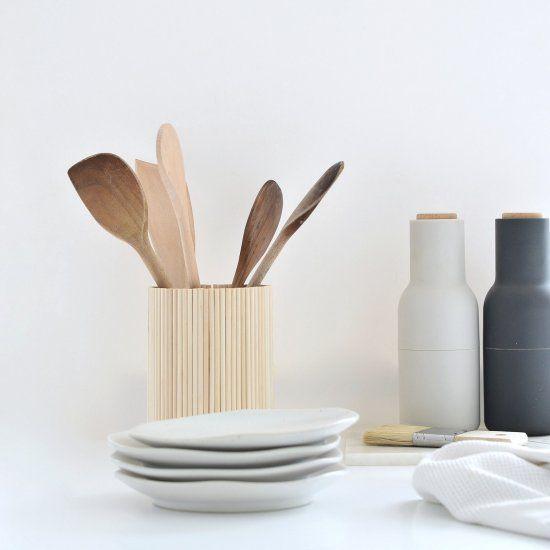 Wooden Utensil Holder Ikea Hack Antiquevases Antique Vases