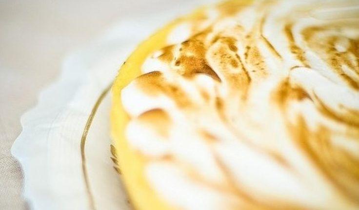 Tarta de limón en microondas