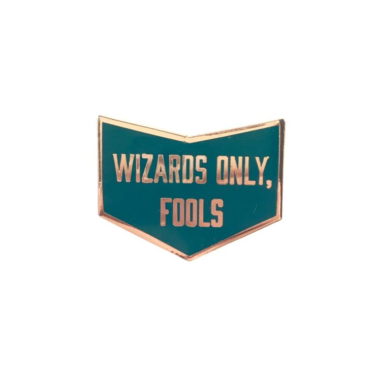 Wizard Babe — Wizard's Only, Fools Pin