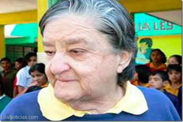 "Liberaron a ""Mamá Rosa"" la matrona del terror en México - http://www.leanoticias.com/2014/07/21/liberaron-a-mama-rosa-la-matrona-del-terror-en-mexico/"